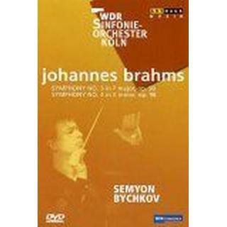 Brahms, Johannes - Sinfonien 3 & 4 (NTSC) [DVD]